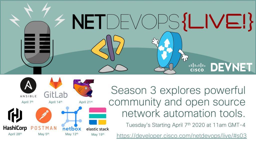 Announcing NetDevOps Live! Season 3