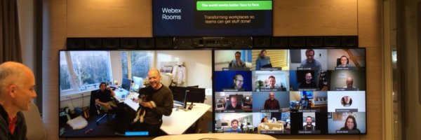 WorkplaceExperiencesHow Remote Workand Distributed Collaboration is Transforming the Workplace. Sandeep's virtual meeting