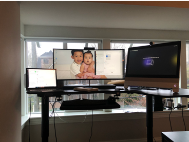 Lorrissa's Home Office and 10 Tips to remote 10 Tips to Keeping Remote Work Moving