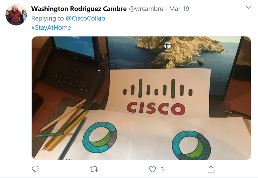 3 colored graphics from the Cisco coloring book.