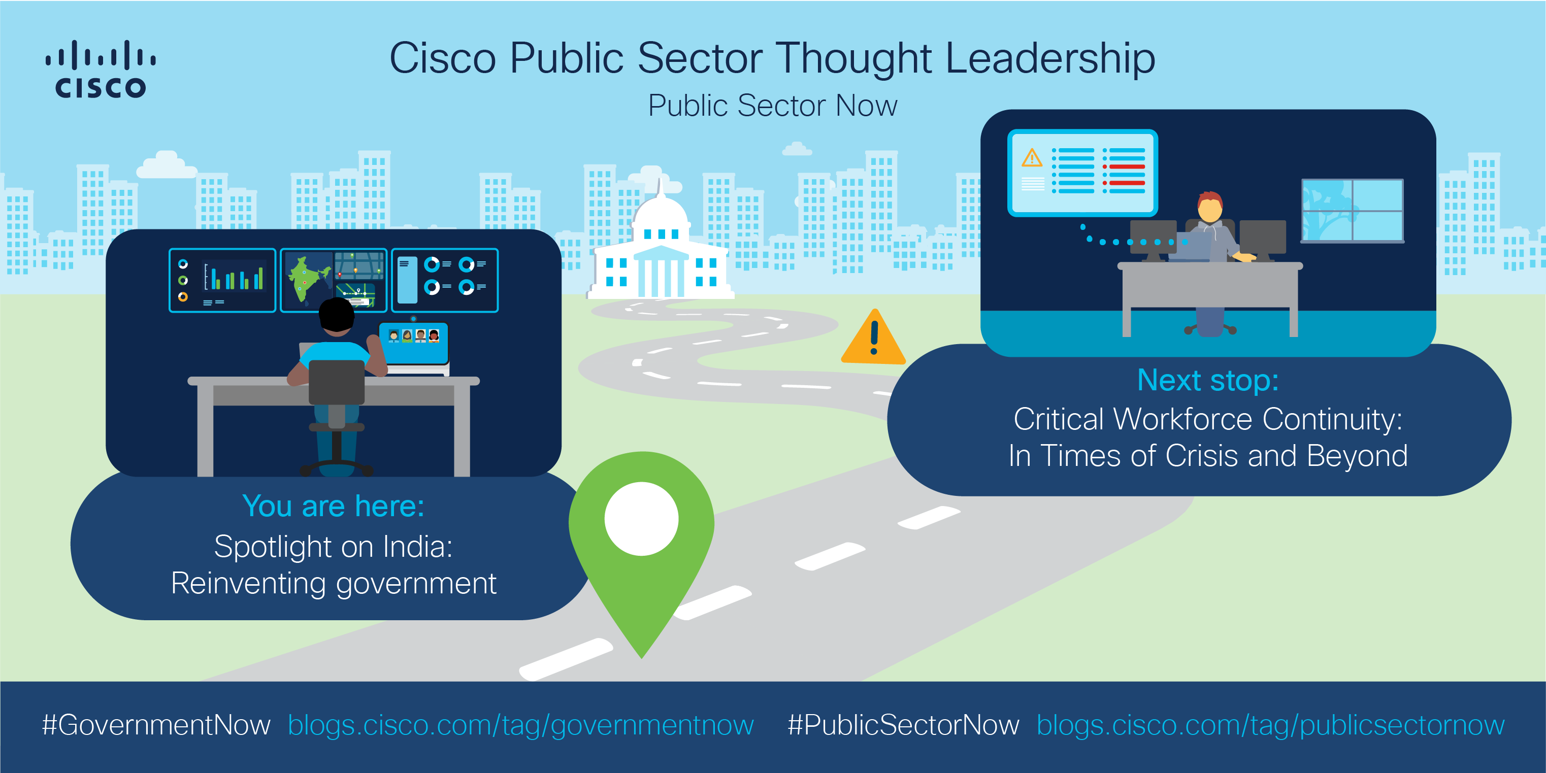 #GovernmentNow series roadmap - from Spotlight on India to Critical workforce continuity.
