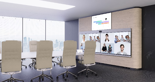 The Room Panorama became our crown jewel as the next generation of immersive video conferencing. Red Dot Award winner
