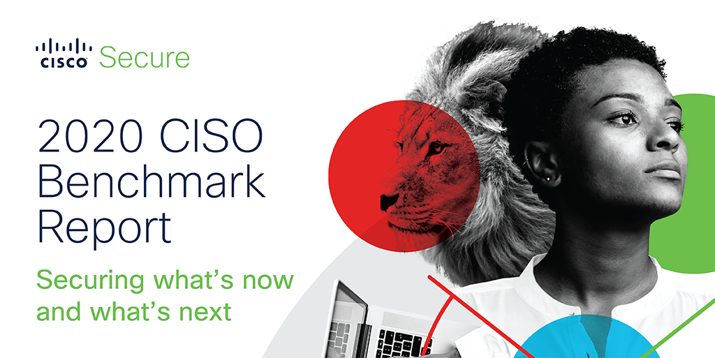 Cover of 2020 CISO Benchmark Report