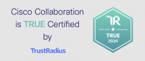 Cisco Collaboration is TRUE Certified by TrustRadius