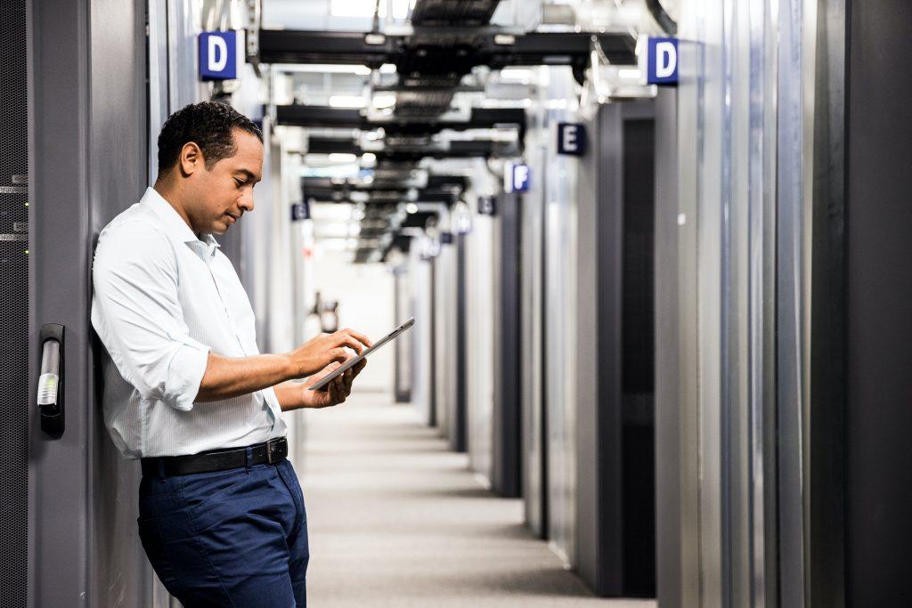 Usando o Wi-Fi para ajudar a gerenciar o retorno ao escritório 1