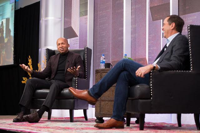 Bryan Stevenson and Chuck Robbins