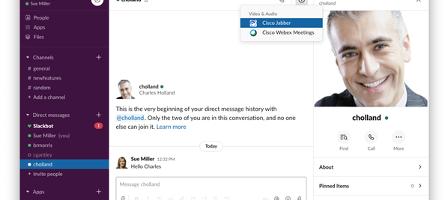 Cisco Calling from Slack