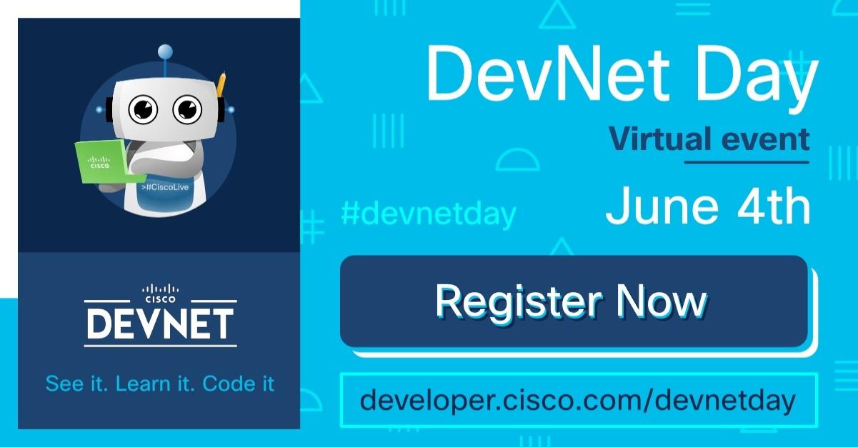 Colaboração na nuvem + seus aplicativos - Aprenda como no DevNet Day 1