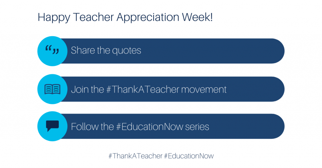 How to get involved with Teacher Appreciation Week