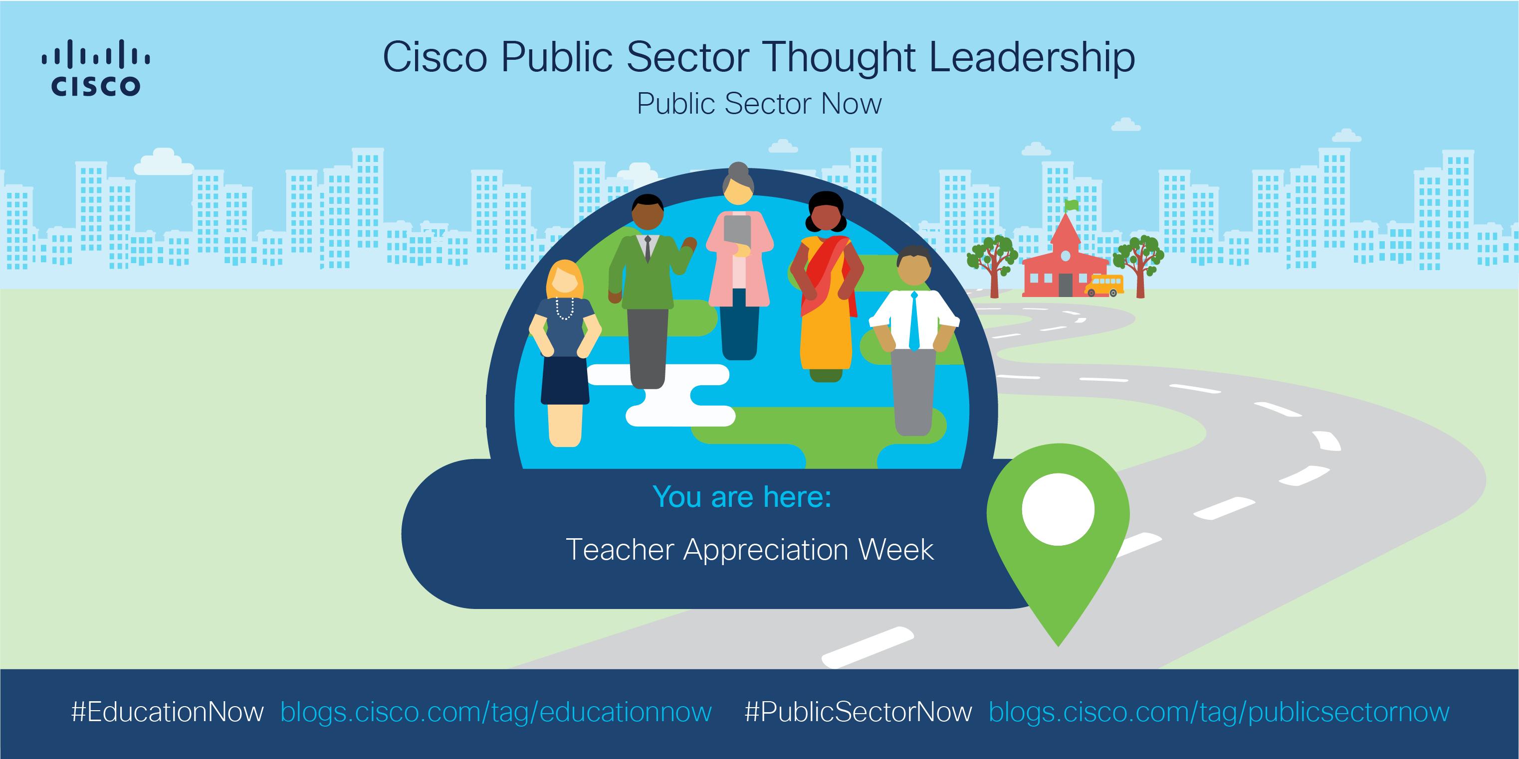 Roadmap: you are here - teacher appreciation