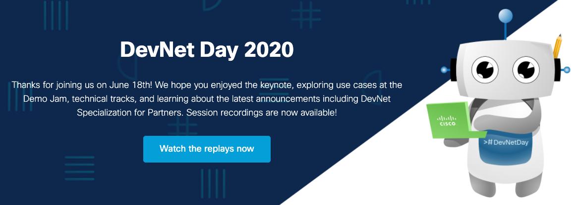 DevNet Day 2020