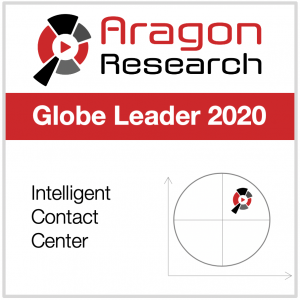 Aragon Research Globe Leader 2020 Intelligent Contact Center
