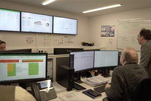 University IT command center