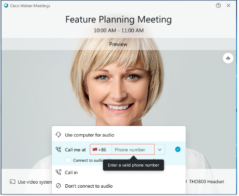 Feature Planning Meeting and Improved Call Me option