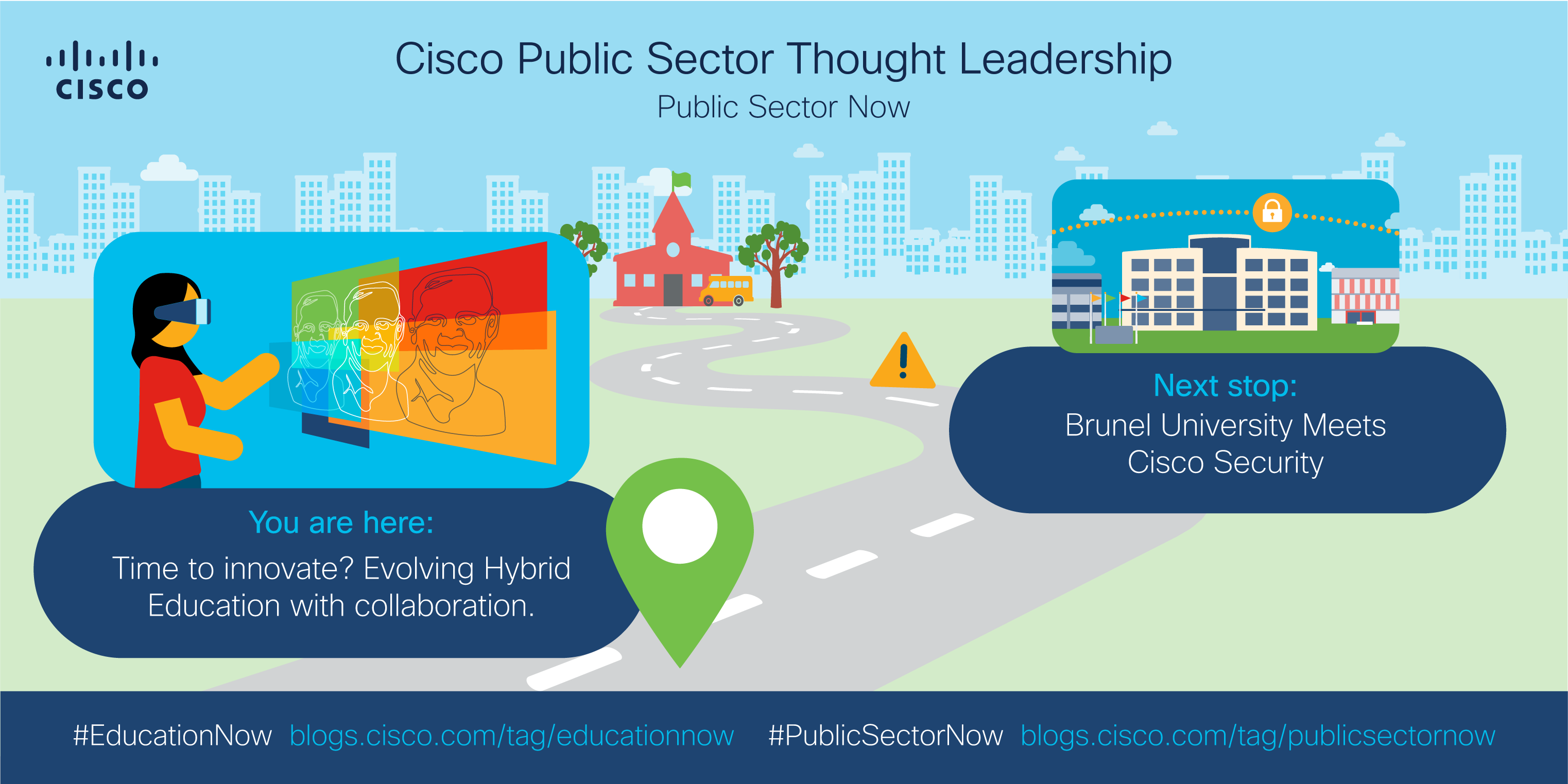 You are here: hybrid learning; Next stop: Brunel university meets Cisco Security
