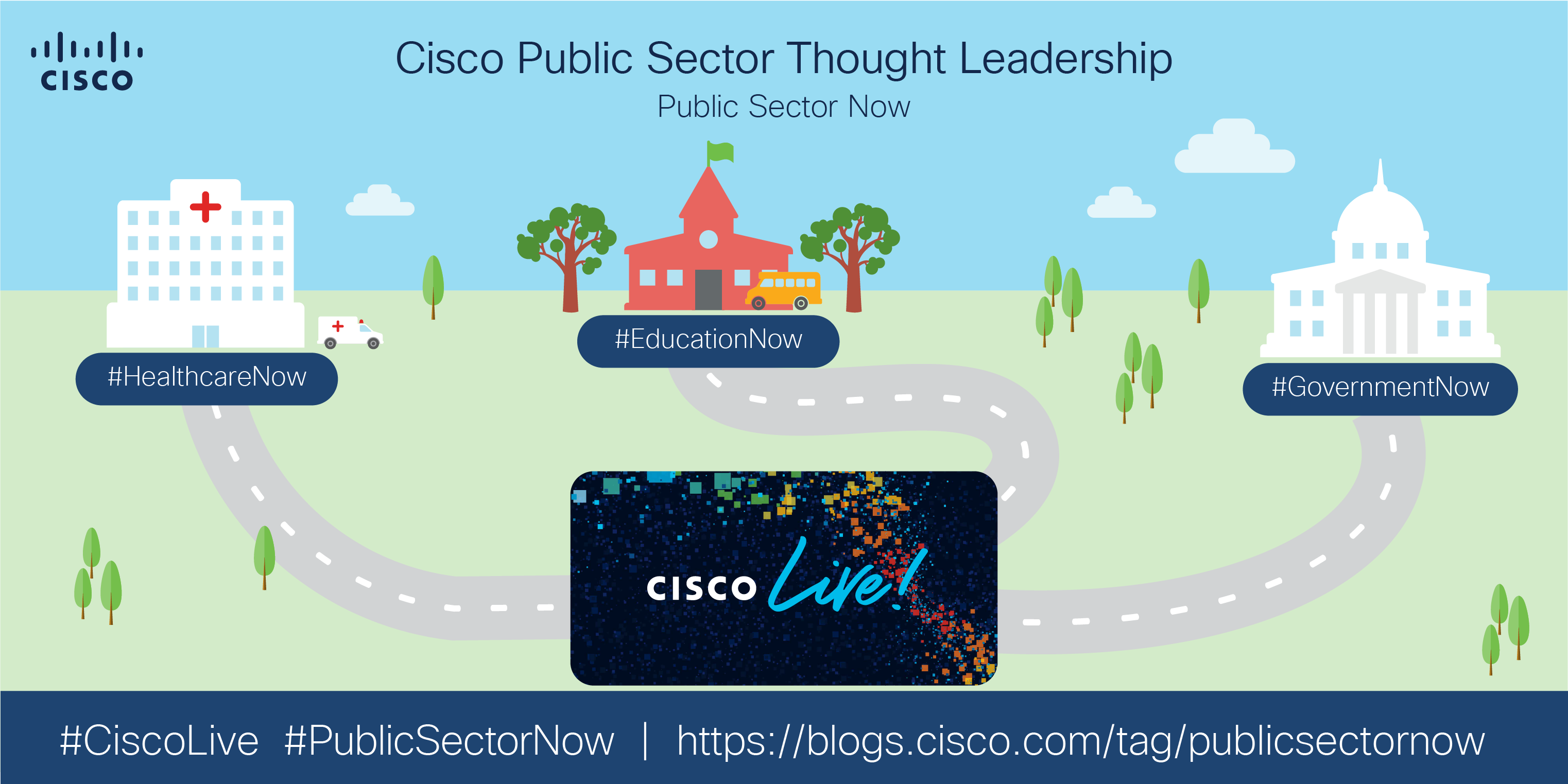 You are here: #PublicSectorNow Cisco live
