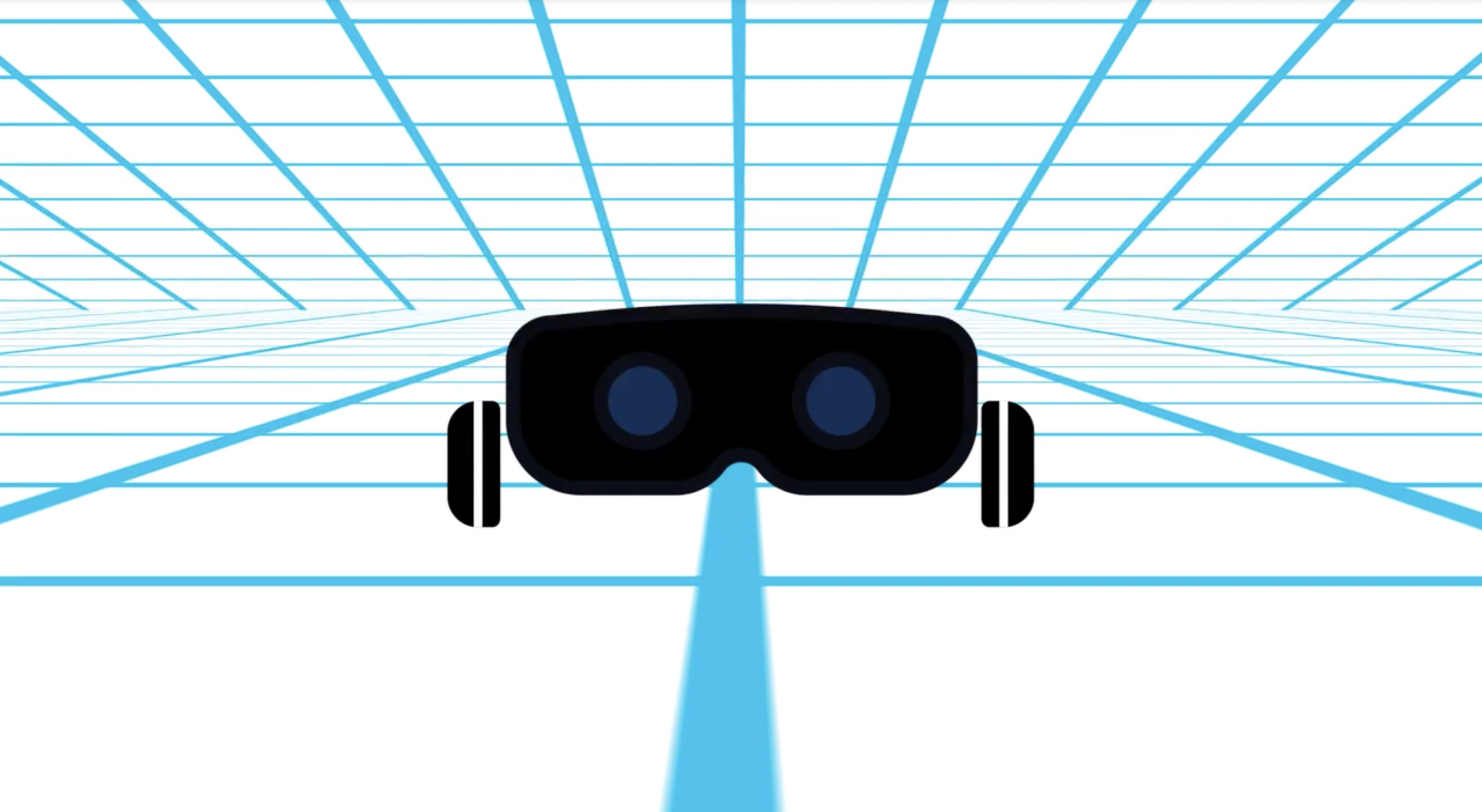 vr goggles in 3d