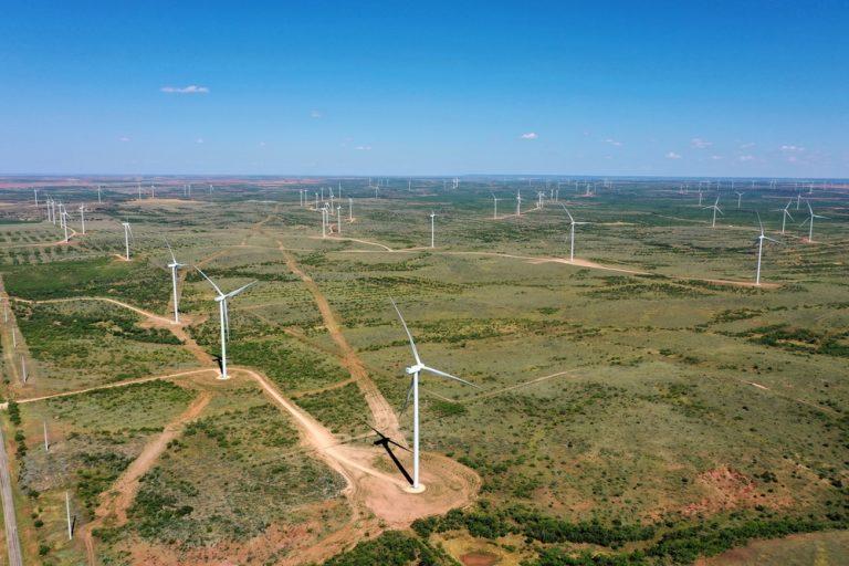 Mesquite Star wind farm in Texas
