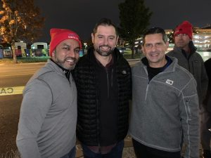 Public Sector Connecting with our communities - DC Sleep Out- Covenent House.