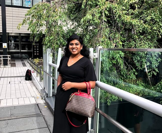 Prabha smiles at Cisco Japan on her birthday!