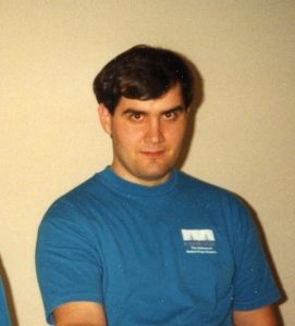 Remaker Circa 1993 in period-correct Cisco shirt