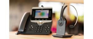 Cisco Headsets on desk