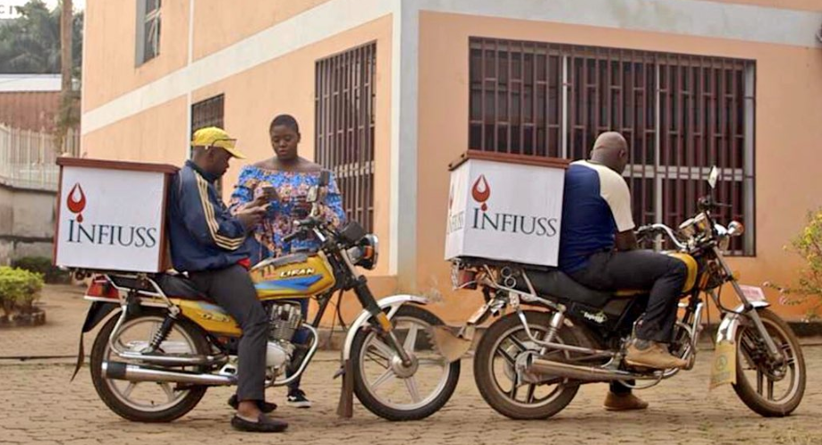 INFIUSS deliveries going to those in need