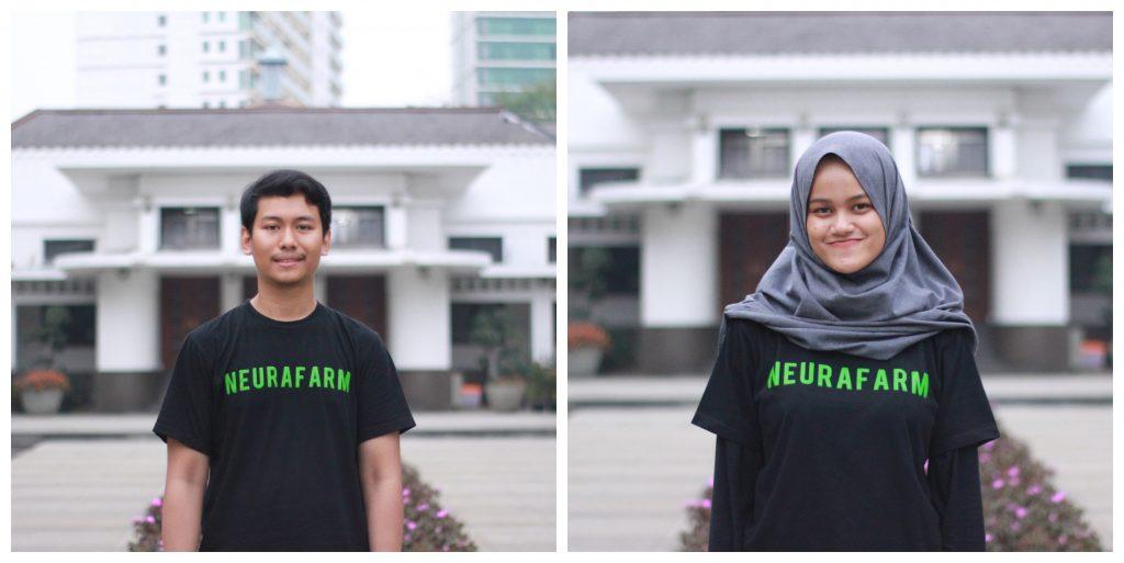 The co-founders of Neurafarm