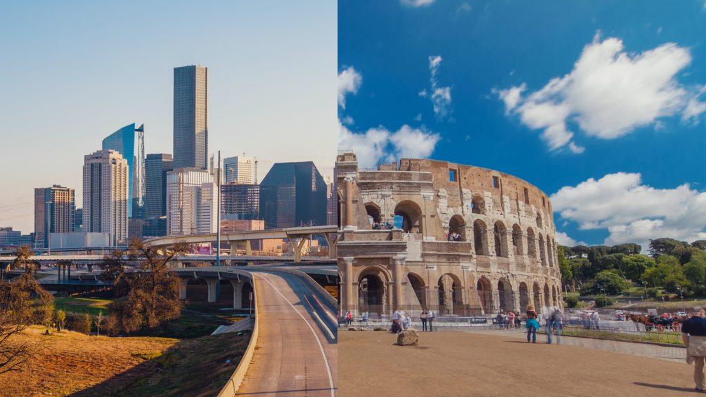 Texas & Italy