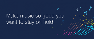 music waves and notes banner