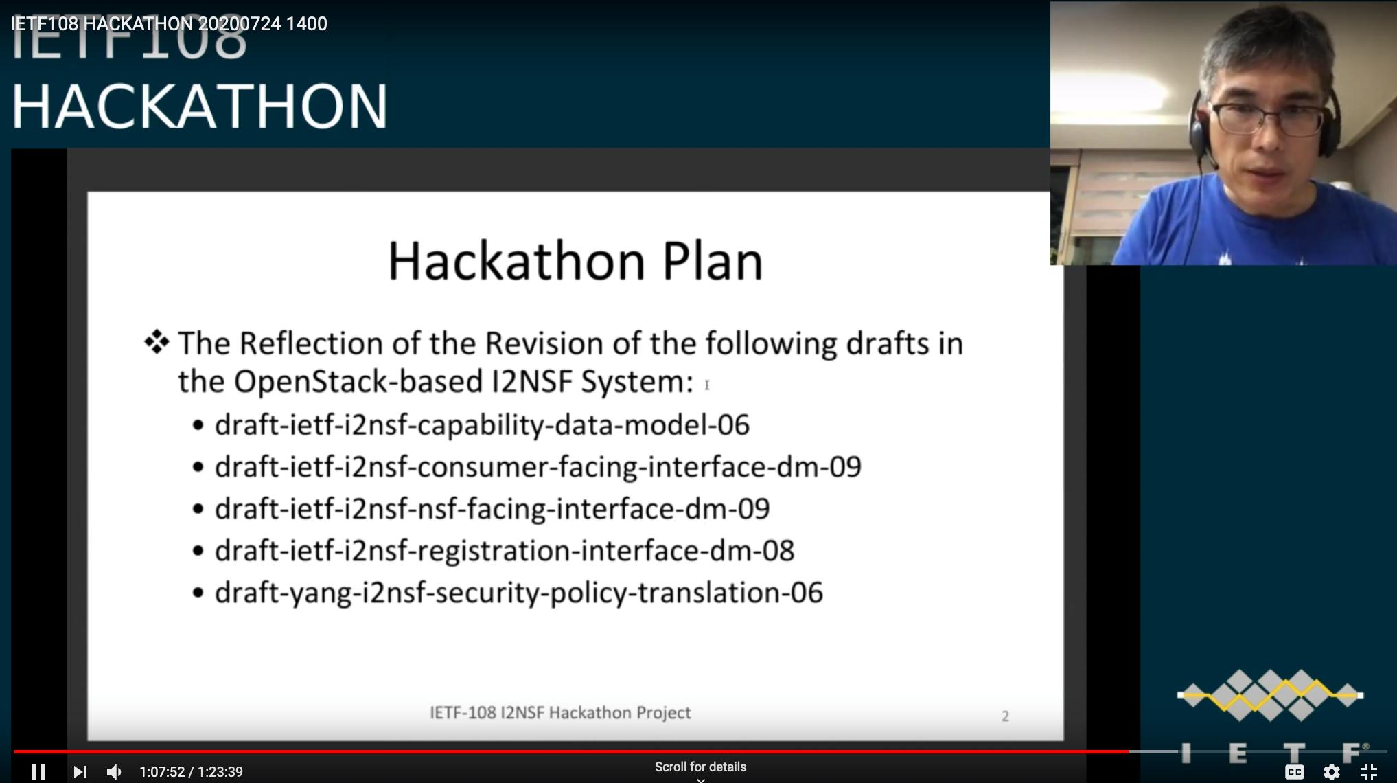 IETF 108 hackathon
