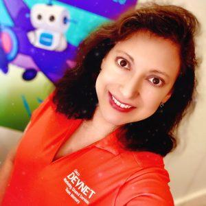 Comunidad Desarrolladores Silvia lee ve escucha escribe comparte DevNet Create Devvie Cisco