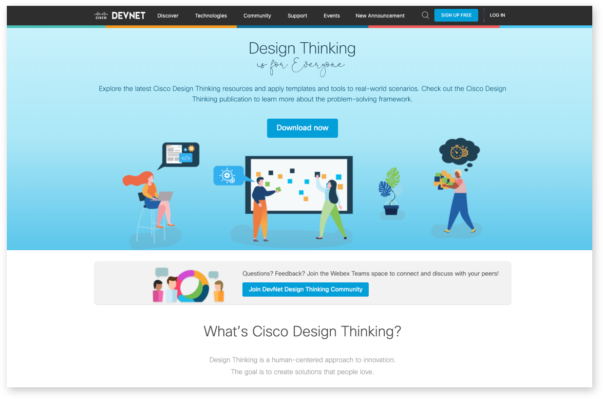 Design Thinking Screenshot