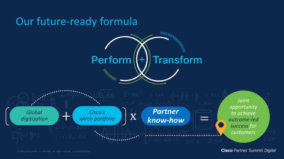 Cisco's future-ready formula for partner success