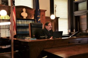 Judge Michael A. Cristofeno, Elkhart County Circuit Court in Indiana