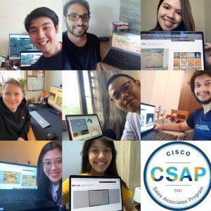 CSAP logo with 7 selfies of CSAP members