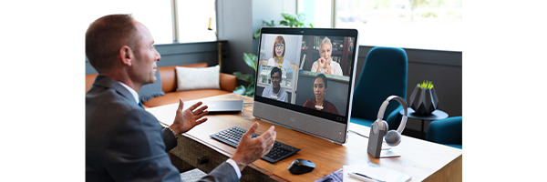 Virtual people leader hosted a video on Webex Meeting