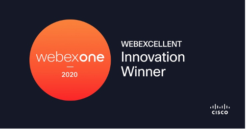 Innovation Winner Webex One