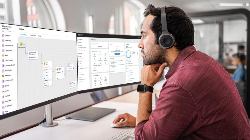 Webex CC - Admin - Flow Control and Control Hub