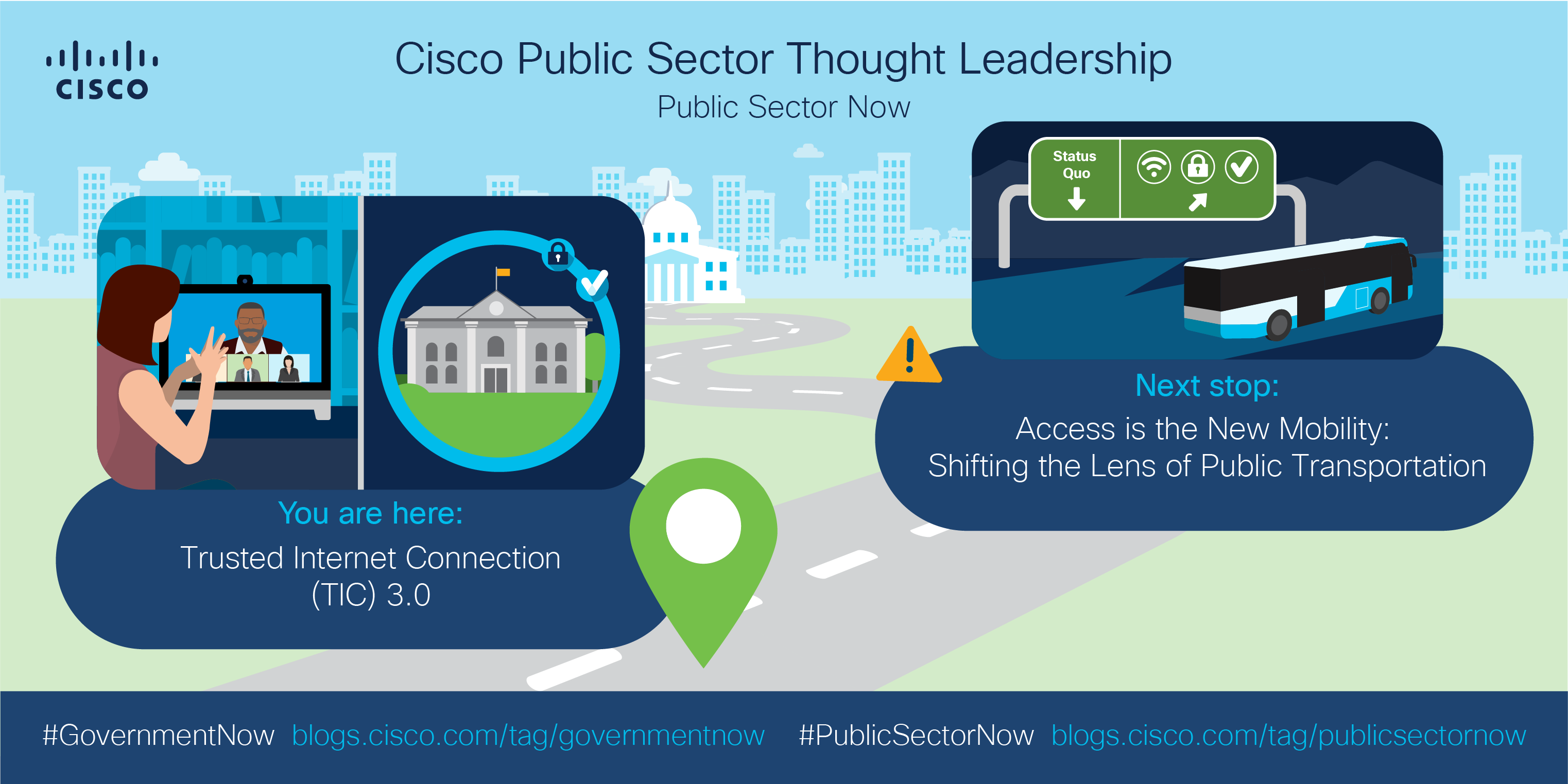 Cisco Public Sector Thought Leadership - #GovernmentNow