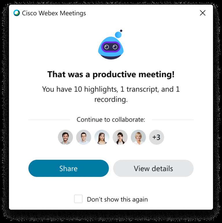 Post Meeting
