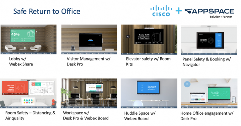 Safe Rturn to the Office and Appspace and workspaces