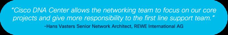 Hans Vasters, Senior Network Architect, REWE International AG