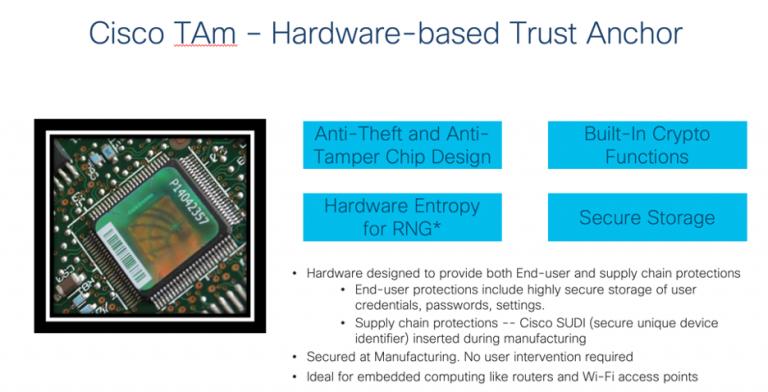 Cisco Trust Anchor