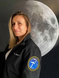 Rocket scientist Flavia Tata Nardini