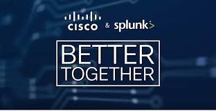 Cisco and Splunk Logos - Better Together