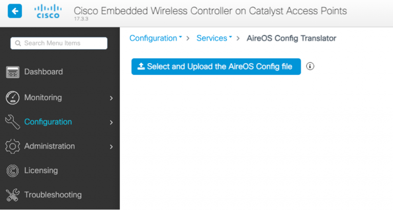 Cisco Embedded Wireless Controller on Catalyst Access Points