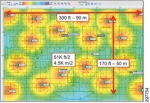 Wireless planning with Ekahau