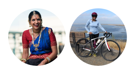 Two images of Anjana.