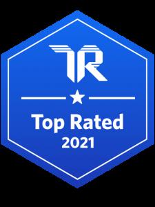 TrustRadius Top Rated 2021 bag
